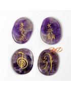 Set cuatro piedras Reiki